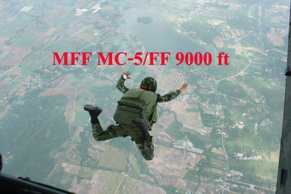กระโดดร่มทางทหาร