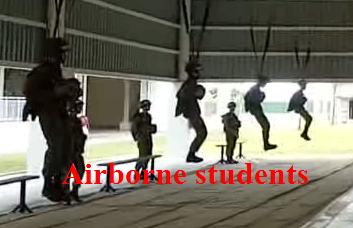 นักเรียนกระโดดร่ม
