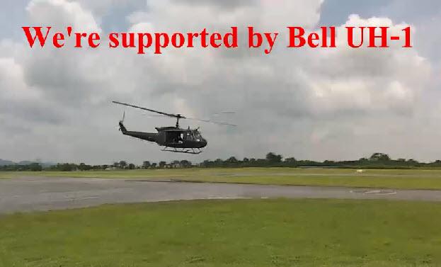 เฮลิคอปเตอร์ Bell UH-1 Huey