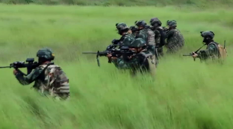 Ranger Special Force Army Demonstration with Special Operations a Direct Action