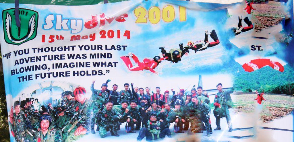 กระโดดร่ม Skydive 2001