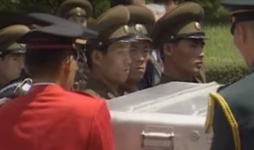 Korea - Remains of US soldier handed over