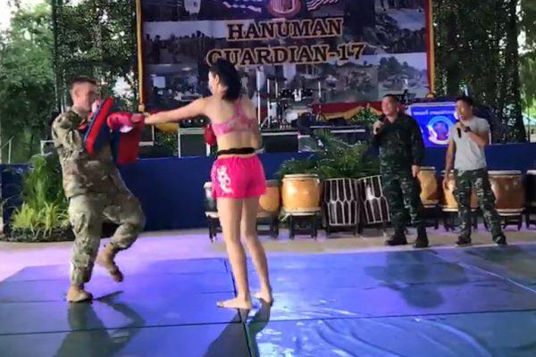 ฝึกผสมไทยสหรัฐ Hanuman Guardian 2017