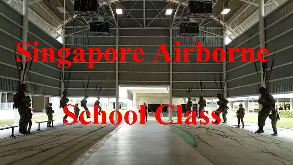 ฝึกกระโดดร่ม สิงคโปร์แอร์บอน