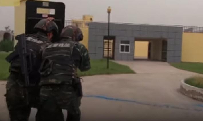 China's anti-terror unit