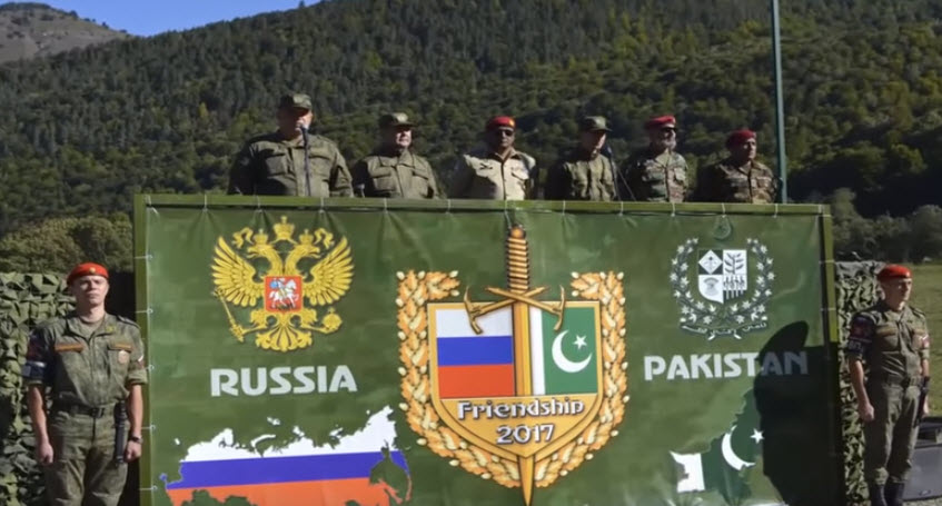 Pakistan, Russia to Hold Joint Military Exercise