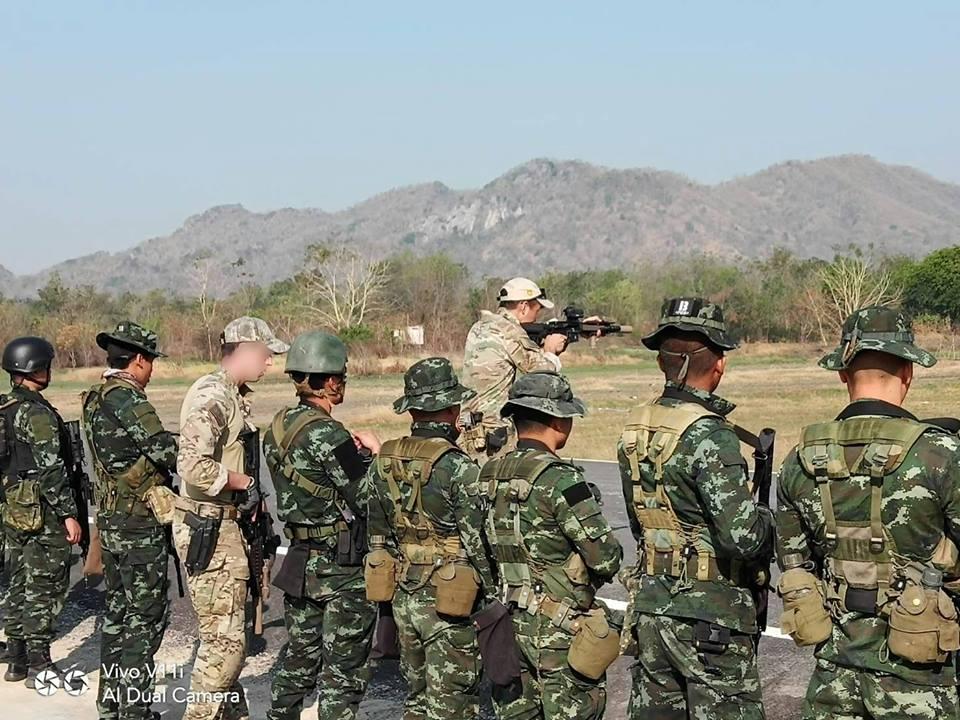 ฝึกยิงปืนทางยุทธวิธี สนามฝึกลพบุรี