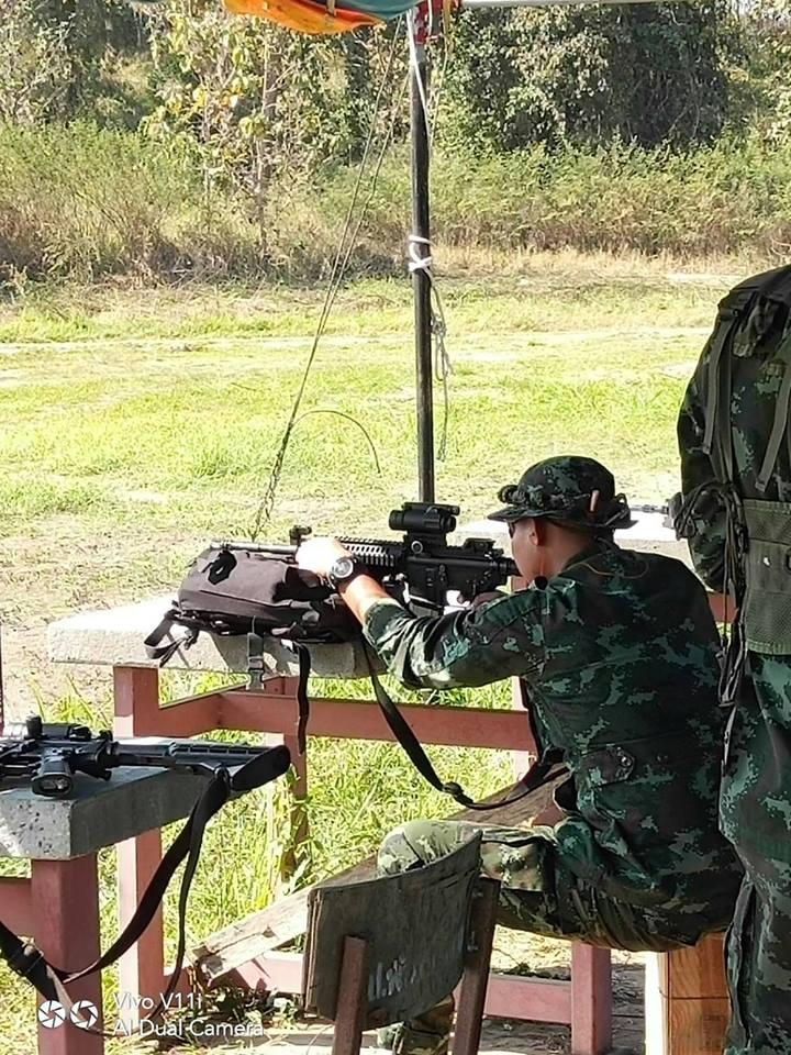 เคลื่อนย้ายกำลังมาฝึกกับกรมรบพิเศษที่ 5(Khun Nen Camp)
