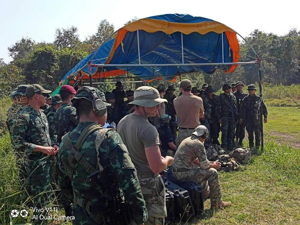 ฝึกร่วมไทย-สหรัฐ รหัส Balance Torch ค่ายขุนเณร เชียงใหม่