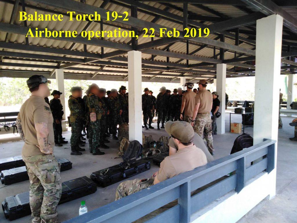 ทีม Us จาก กกล.ภาคพื้นแปซิฟิค(Special Forces) เริ่มฝึกที่ลพบุรี จบเฟสที่เชียงใหม่