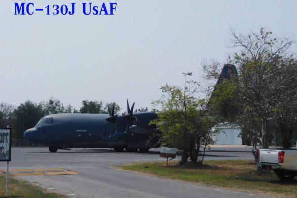 เครื่องบินลำเลียง MC-130 J บินสนับสนุน กระโดดร่มร่วมมิตรภาพ CG19