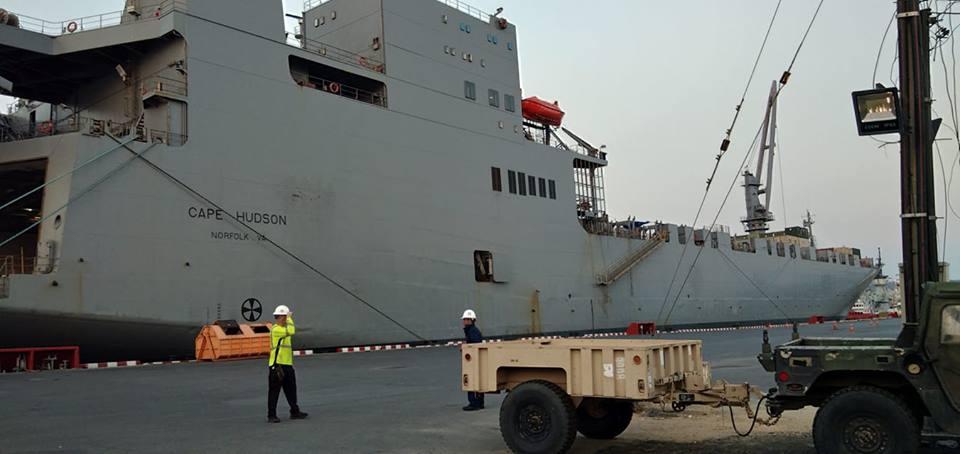 เรือบรรทุกอาวุธยุทโธปกรณ์การฝึก