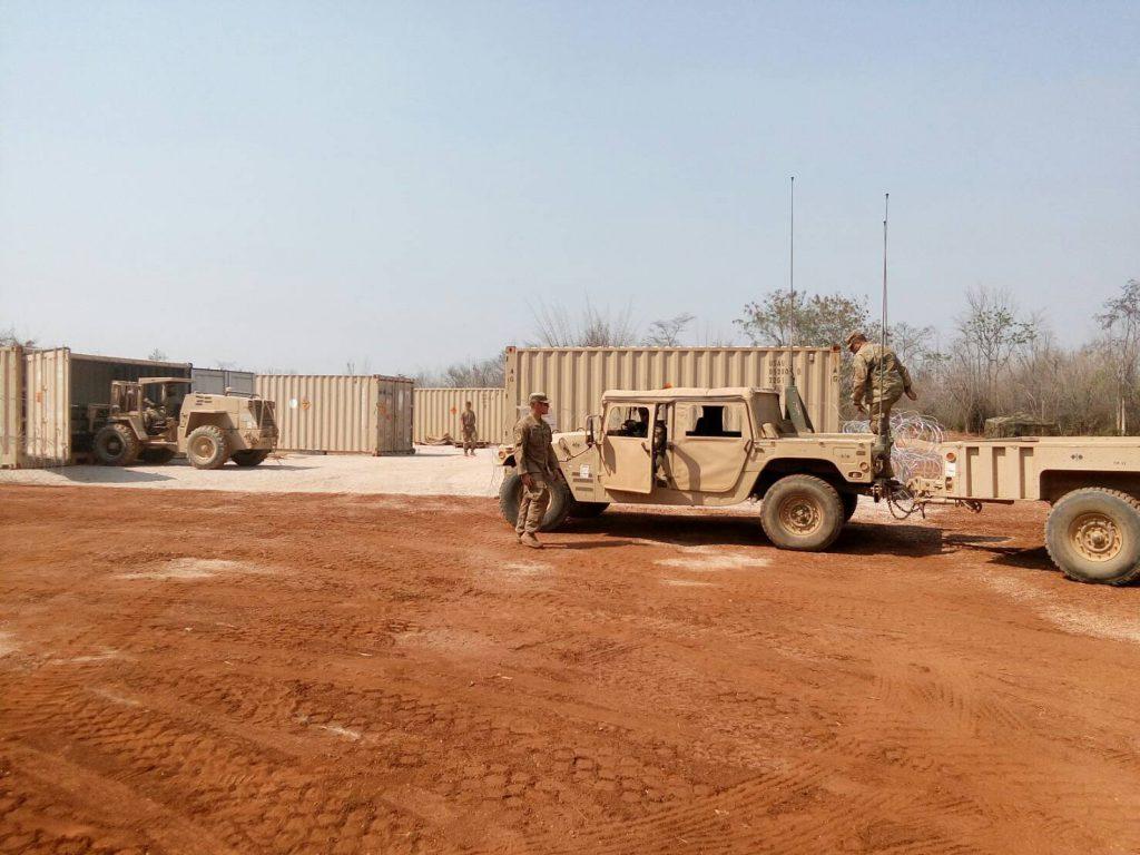 ชุดเคลื่อนย้ายกำลัง และยุทโธปกรณ์เข้าพื้นที่การฝึก Cobra Gold 19