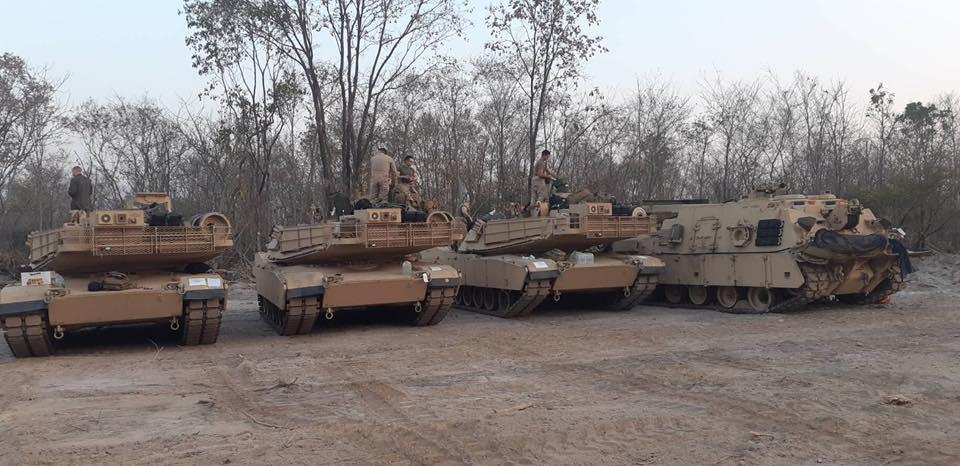 ถ.หลัก M1A1 นาวิกโยธิน สหรัฐ