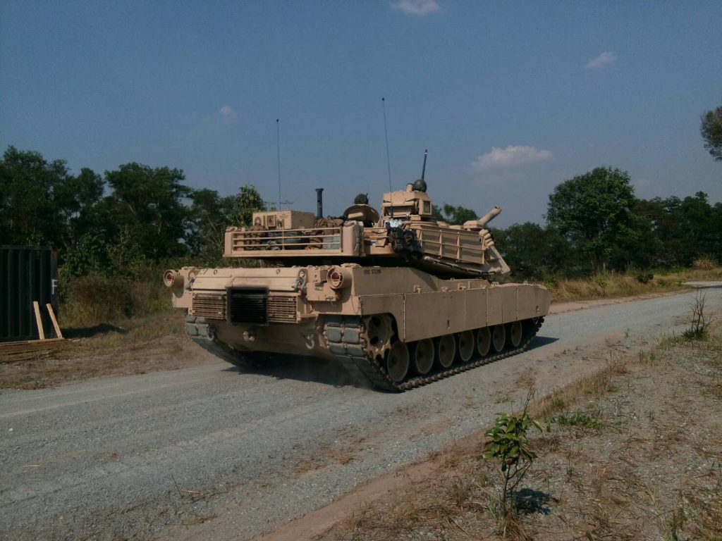 ถ. M1A1 Abrams