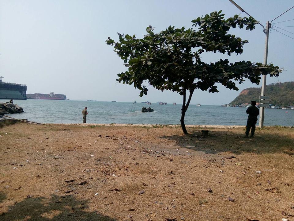ทดสอบสมรรถนะ การวิ่งบนบกและในทะเล รถ AAV นย.