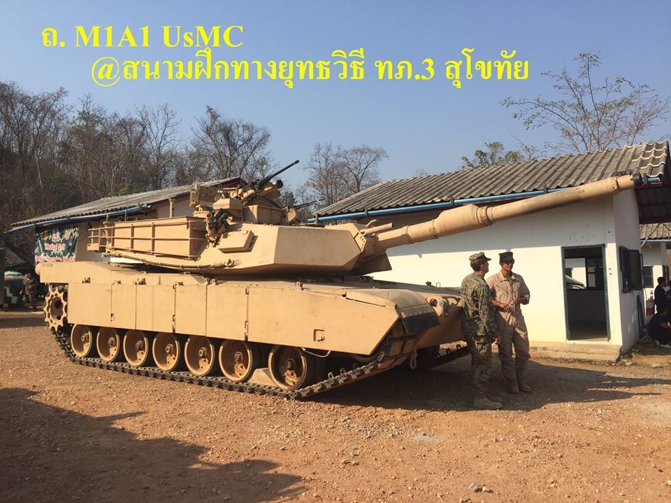 รถถังหลัก M1A1 Abrams USMC