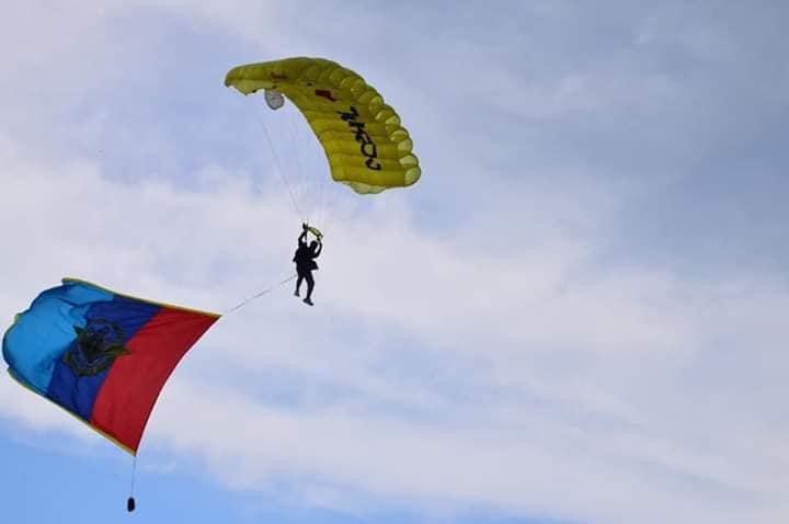 การแข่งขันกระโดดร่มกีฬากองทัพไทย ปี 2562