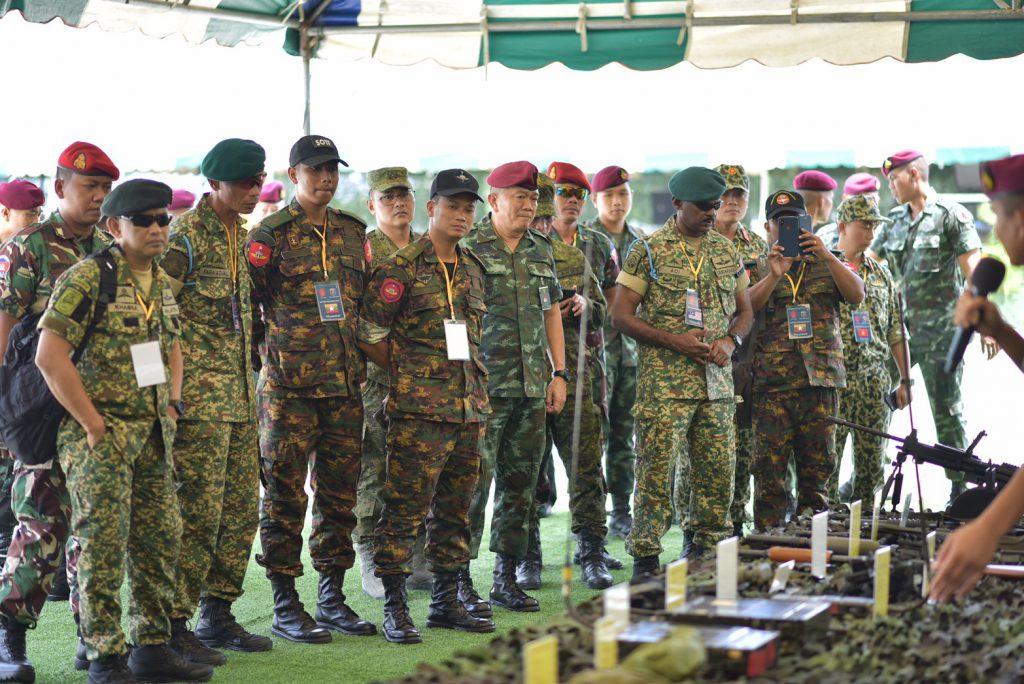 กิจกรรมพัฒนาสัมพันธ์หน่วยทหารรบพิเศษ