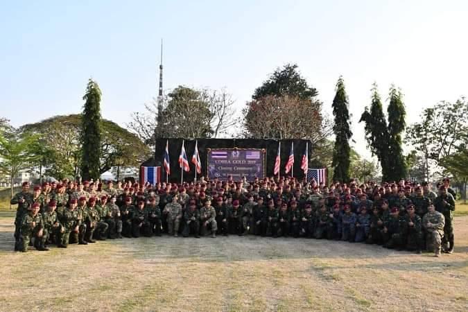 พิธีปิดการฝึกร่วมไทย-สหรัฐ รหัส Balance Torch 19-2